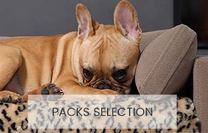 Luxury pet bed in packs promotionals